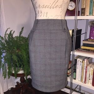 Forever 21 Pin Stripe Pencil Skirt size Large